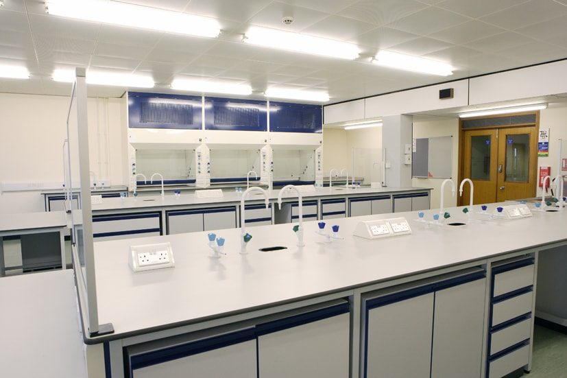 Ready-to-go laboratories